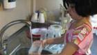 همکاری کودکان در خانه