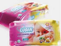 ممنوعیت دستمال مرطوب برای بچه ها