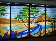 تزئین ظروف شیشهای با رنگ و نقاشی
