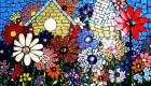 وسایل لازم برای هنر نقاشی بر روی موزاییک