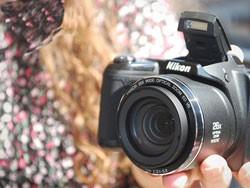 تجهیزات نهفته در دوربین نیکون مدل L320