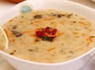 طبخ سوپ جو سفید در مایکروویو مخصوص افطار