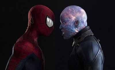 عکس های کمتر دیده شده از مرد عنکبوتی و الکترو