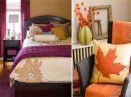 ترکیب رنگ های گرم برای دکوراسیون