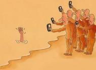 طنز فرهنگ استفاده از موبایل