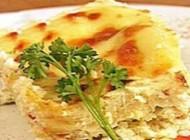 چگونگی طبخ لازانیا با مرغ