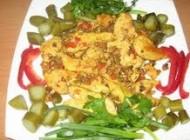 چگونگی تهیه خوراک سبزیجات و مرغ