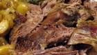 طبخ گوشت بره و سس لیمو (غذای یونانی)