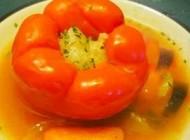 طبخ دلمه سبزیجات (رژیمی)