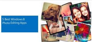 معرفی چندین برنامه ویرایش عکس در ویندوز 8