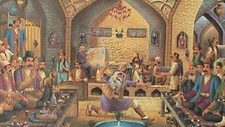 آشنایی با هنر قدیمی نقاشی قهوه خان