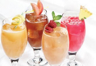 نوشیدنی گلابی و نارگیل