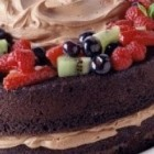 چگونگی طبخ کیک اسفنجی شکلاتی