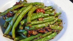 طبخ  لوبیا سبز تند