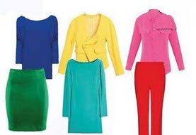 رنگ لباس و بیان حس شما