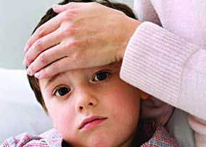تب کودکان را چگونه کاهش دهیم؟