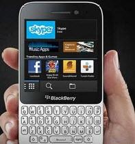 معرفی گوشی BlackBerry Q5