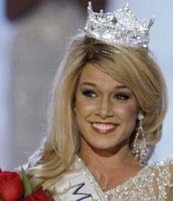 قدیسه شدن ملکه زیبایی اهل آمریکا (عکس)