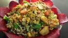 طرز تهیه سبزیجات برشته شده رژیمی