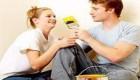 شادی و آرامش در کنار همسر