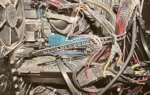 اثر گرد و خاک بر کامپیوتر