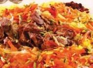 تهیه ی پلو افغانی