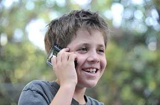 تلفن همراه و کودکان