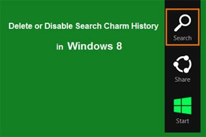 چگونگی حذف اطلاعات در نوار Charms ویندوز 8