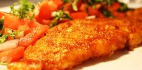 طبخ ماهی فیله سوخاری