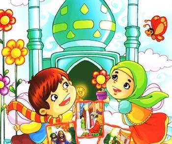 عکس امام حسین نقاشی کودکانه
