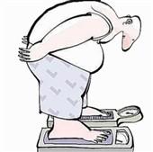چاقی مادر بیمار هاست ..