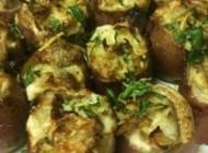 طبخ خوراک سیب زمینی با پنیر