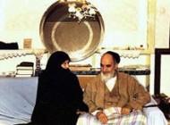صفات امام خمینی در خانواده