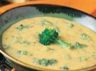سوپ سبزیجات با پنیر چدار