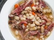 طبخ سوپ لوبیا و گوشت