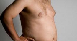 سینه مردها قابل آب شدن است؟