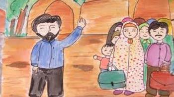 شرح ضرب المثل با سلام و صلوات