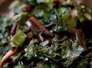 طبخ خوراک چغندر سبز