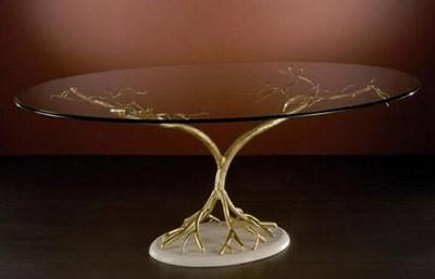 خلاصی از خط و خش میز شیشه ای