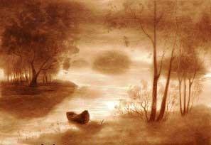 کشیدن نقاشی زیبا با نفت (+عکس)