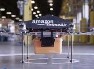 حمل و نقل با بشقاب پرنده پستچی های شرکت آمازون