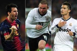 سریع ترین دونده های فوتبالیست در جهان (عکس)