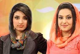 مجریان زیبای خانم و بد حجاب تلویزیون افغانستان +عکس
