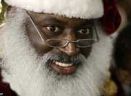 بابانوئلی که سنت شکنی کرد + عکس