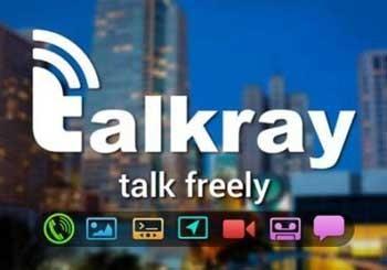 نرم افزار  جدید پیام رسان آمد TalkRay