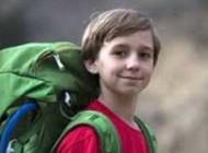 این پسر 9 ساله بلندترین قله را فتح کرد +عکس