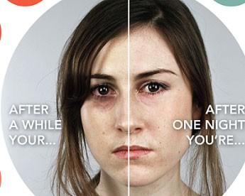 موثر بودن خواب مناسب شبانه بر چهره انسان (عکس)