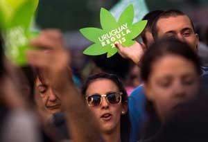 آزاد شدن تجارت ماری جوانا در اروگوئه