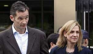 شاهزاده کریستینا دختر پادشاه اسپانیا به دادگاه احضار شد