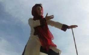 نخستین شاهنامه خوان زن ایرانی (عکس)